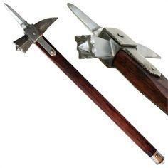 Medieval Functional Spiked Lucerne War Hammer
