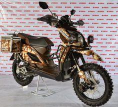 Modifikasi Yamaha X Ride 125 Adventure