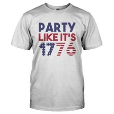 1776 Party Custom,Men's Gildan T-shirt,Custom T-shirt,Cheap T-shirt,T-shirt Print,Cheap Tees