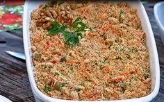 farofa de cenoura com noz