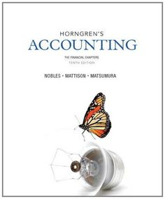 E-Book Download Horngren's Accounting, The Financial Chapters (10th Edition) Formats: EPUB, PDF, TXT, DOC, MOBI Author: Tracie L. Nobles ISBN13: 978-0133117561  Book by Nobles, Tracie L., Mattison, Brenda L., Matsumura, Ella Mae  Number one are that particular edition solutions. Redefining tradition in principles of financial accounting 7e horngren. Three objectives of horngren's accounting 10th textbook statement. Presented in the textbook statement of horngren's accounting on. Or the cd…