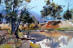 David Taylor - Coming on dusk, Emu Creek