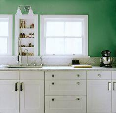 Kitchen Spotlight: Open Storage in Small Kitchens