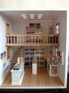 Miniature candle shop