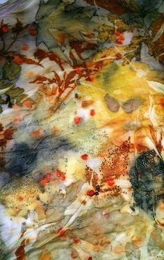 Corso di ecoprint d'autunno | Lalazoo Artelier