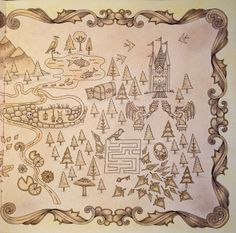 Johanna Basford Enchanted Forest Coloring Book I Colored Along With