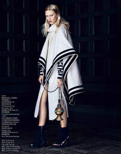 Publication: Vogue China March 2014 Model: Juliana Schurig Photographer: Lachlan Bailey Fashion Editor: Ludivine Poiblanc Hair: Rudi Lewis Make-up: Frank B