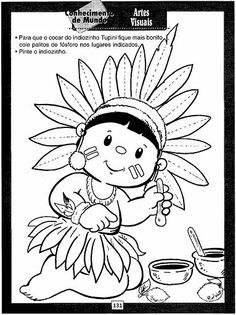 Colouring Pages, Coloring Books, Wild West Party, Thanksgiving Coloring Pages, Indigenous Tribes, Cowboys And Indians, Indian Crafts, Art Drawings For Kids, Christopher Columbus