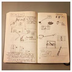 017_Cric e croc disegnata da Marco Belpoliti su @moleskine