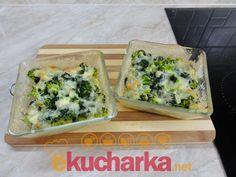 Zapečená brokolice se smetanou a sýrem