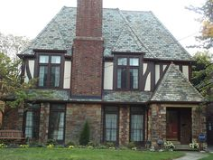 *paint colors*  ...Shaker Heights Ohio Cleveland tudor house | Flickr - Photo Sharing!
