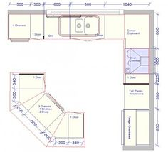 Image Result For 10 X 16 Kitchen Floor Plan