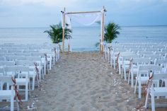 beach wedding decor - Google Search