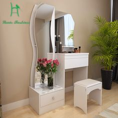 Latest small dressing table designs for bedrooms 2018 Creative idea book for latest small dressing table design for bedrooms 2018 interior, How to choose and design a small dressing table for small bedrooms Wardrobe Design Bedroom, Bedroom Furniture Design, Bedroom Design, Bed Furniture Design, Bedroom Bed Design, Bedroom Decor, Home Decor, House Interior, Dressing Table Design