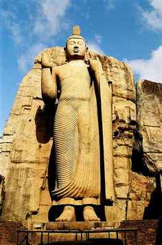 Aukana Buddha, Sri Lanka... On my bucket list to see someday..