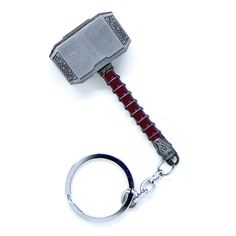 Thor's Mjolnir Hammer Keychain #thor #mjolnir #gifts #keychain #avengers Thor Hammer Keychain, Braces Colors, Thors Hammer, Marvel Fan, Key Rings, Iphone, Avengers, Silver Rings, Personalized Items