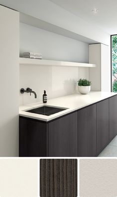 8 beautiful white colour schemes for kitchens, bathrooms and laundries Colorful Furniture, Cheap Furniture, Discount Furniture, Kitchen Furniture, Furniture Design, Laundry Room Colors, Laundry Room Design, Kitchen Design, Bathroom Color Schemes
