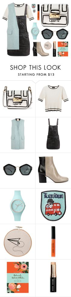 """Off to Granny's"" by joasumner ❤ liked on Polyvore featuring Lanvin, Monki, Roksanda Ilincic, G-Star, Miu Miu, Maison Margiela, Ice-Watch, Karl Lagerfeld, Bobbi Brown Cosmetics and Chronicle Books"
