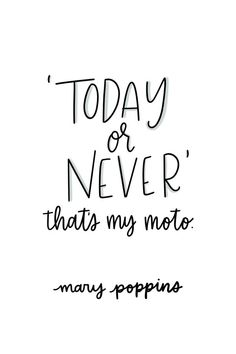 15 Quotes from Mary Poppins Returns to Brighten Your Day TWF // Mary Poppins Returns Quotes Mary Poppins Quotes Today or Never Disney Movies Disney Quotes Words to Live By - Law of Attraction Quotes - Inspirational & Motivational Quotes Disney Quotes To Live By, Cute Disney Quotes, Walt Disney Quotes, Inspirational Disney Quotes, Disney Senior Quotes, Unique Quotes, Quotes About Disney, Motivational Movie Quotes, Beautiful Disney Quotes