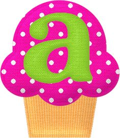 For Girls: Anika, Anniston, Aliya, Annalise Letter Symbols, Alphabet And Numbers, Mickey Mouse Letters, Cartoon Cupcakes, Cute Alphabet, Alphabet Print, Alphabet Letters, Birthday Scrapbook, Letter Balloons