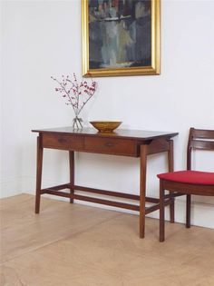 Mid Century Swedish 60's Console Table / Sideboard / Serving Table in Antiques, Antique Furniture, Tables