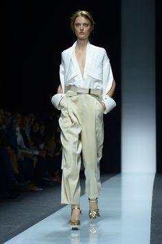 Gianfranco Ferré Primavera 2014 Semana de la moda de Milán Revista Ellas