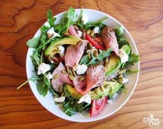 Flank Steak Salad | 23 Super Satisfying Low-Carb Dinners