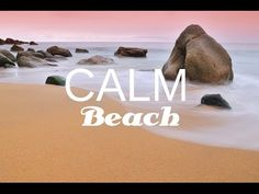 CALM BEACH: Tranquil music, Anxiety Relief with beach & nature sounds, with isochronic tones Calming Sounds, Nature Sounds, Meditation For Anxiety, Binaural Beats, Brain Waves, Close Your Eyes, Relaxing Music, Anxiety Relief, Natural Home Remedies
