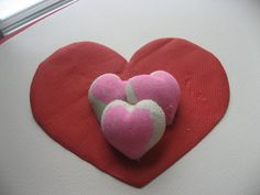 Waterlily Heart Shaped Bath Bombs by Charmandlure on Etsy, $6.00