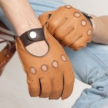 FREE Shipping Worldwide|    Most recent arriving Genuine Leather Men Gloves High Quality Deerskin Glove Fashion Casual Business Male Real Leather Five Finger Gloves EM002W now on sale $US $46.99 with free delivery  you\\'ll discover this particular item and even even more at our favorite on-line store      Have it today in the following…