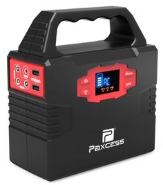 Portable Generator Power Station, CPAP Battery Pack, Home Camping Emergency Power Supply Charged by Solar Panel/Wall Outlet/Car with Dual AC Power Inverter, 3 DC Ports, USB Ports – Deals Good Portable Inverter Generator, Solar Generator, Solar Energy Panels, Best Solar Panels, Ups Power Supply, Emergency Power, Emergency Preparedness, Solar Projects, Diy Projects