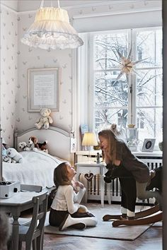 A classic kids room design decorating home design Decor Room, Bedroom Decor, Home Decor, Design Bedroom, Girls Bedroom, Girls Room Design, Deco Kids, Little Girl Rooms, My New Room