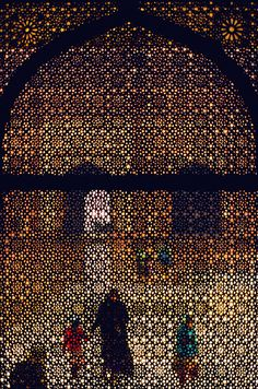 Window, India, by Arthur Meyerson/ Also known as Jali (mesh) work, very intricate.