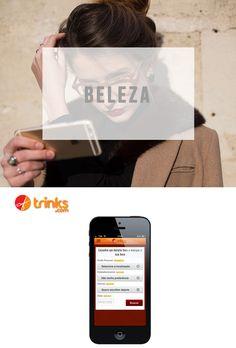 5 Apps que facilitam sua vida!   Beleza: Trinks #dicas #celular #app #aplicativo #iphone #android #phone #estilo #moda #lnl #looknowlook