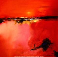 Unknown Artist Orange Horizon painting is available for sale; this Unknown Artist Orange Horizon art Painting is at a discount of off. Small Framed Art, Framed Art Prints, Fine Art Prints, Framed Wall, Landscape Artwork, Abstract Landscape, Abstract Art, Peter Wileman, Orange Wall Art
