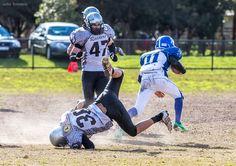 Samuel Delai: Avoiding a tackle
