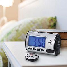 Portable Spy Camera Hidden Alarm Clock Nanny Cam Hidden Web Camera and 8GB TF #UnbrandedGeneric