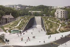 Université féminine EWHA, à Séoul par Dominique Perrault