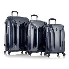 Heys Eco Orbis Luggage Set 3PC Suitcases Expandable Hardcase ...