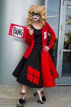 Wondercon 2015 Harley Quinn #Manny