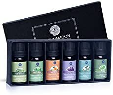 Lagunamoon Essential Oils Top 6 Gift Set Pure Essential Oils for Diffuser, Humidifier, Massage, Aromatherapy, Skin & Hair Care: Beauty Essential Oil Gift Set, Essential Oils For Pain, Natural Essential Oils, Essential Oil Diffuser, Natural Oils, Natural Beauty, Oil Diffuser Humidifier, Baby Shower Prizes, Massage
