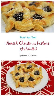 Finnish Christmas Pastries - Joulutortti #christmas #baking #Finland