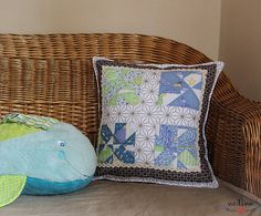 A patchwork pillowcase for decorative pillows. Thanks to its lively colors and lace decoration with floral motifs it is a perfect choice for the living room, bedroom or for a babys room. Dark Purple, Blue Green, Light Blue, Light Colors, Colours, Handmade Envelopes, Patchwork Pillow, Lace Decor, White Fabrics