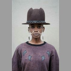Brad : house of malaise  #afro #futurism #earrings