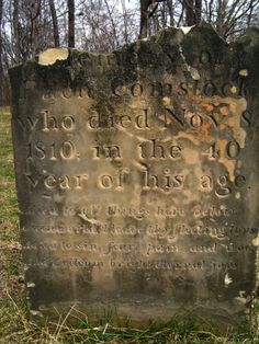 Tinker's Creek Cemetery, also know as Old Indian Cemetery, Terra Vista Cemetery, Hillside Cemetery, and Pilgerruh Cemetery, is the burial gr...