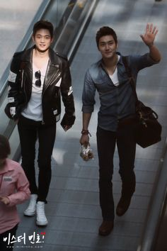 Handsome Choi brothers <3