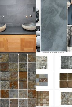 We have wide collection slate tile in diverse range of shape, size and pattern. We import these tiles from Brazil and supply it to USA local and nationwide market. In our wide collection Brazilian Black( Montauk Black ). Brazilian Multi color ( San Rio Rustic ), Brazilian Green (Jade Green) Cleft Slate Tile and mosaic slate tiles are the famous tiles. You may install these to Kitchen, bathroom, Living room, subway, wall cladding and many more. It have ability to bring unique and powerful… Slate Tiles, Black Brazilian, Wall Cladding, Jade Green, Rio, Tile Floor, Mosaic, Kitchens, Range