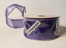 "1.5"" sheer purple ribbon; purple ribbon; ribbon supplies; purple ribbon awareness; purple ribbon aesthetic; ribbon work; ribbon flowers; ribbon art; crafts with ribbon; sheer ribbon; sheer ribbon crafts; sheer ribbon bow diy; ribbon bows; ribbon for bouquet; hair accessories; scrapbooking ribbon; purple themed wedding; diy pew bows ribbons; sheer purple; offray ribbon; craft ribbon; floral supplies; floral ribbon; gift wrapping; wired ribbon; wired ribbon bows #purple #ribbon #diycrafts… Floral Ribbon, Purple Ribbon, Ribbon Art, Diy Ribbon, Wired Ribbon, Ribbon Crafts, Ribbon Bows, Etsy Handmade, Handmade Jewelry"