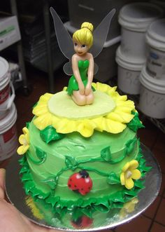 Wonderful Picture of Tinkerbell Birthday Cake - birthday Cake White Ideen Tinkerbell Birthday Cakes, Fairy Birthday Cake, Funny Birthday Cakes, Birthday Cake Pictures, Adult Birthday Cakes, Tinkerbell Party, Tinkerbell Doll, 3rd Birthday, Birthday Cake Decorating