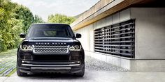 Noticeably redesigned headlights on the 2013 Range Rover